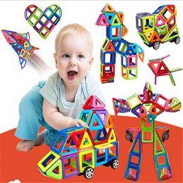 Magnetic Blocks Educational Australia - Building Blocks Kids Toys Learning Magnetic Toy 91pcs Kids Educational Toys Creative Bricks Toys for Children 3D DIY Building Blocks Set
