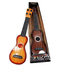 string instruments kids 2019 - Children's Guitar Toy, Steel String Ukulele, Educational Toys, Early Education Instrument, Kid' Birthday'