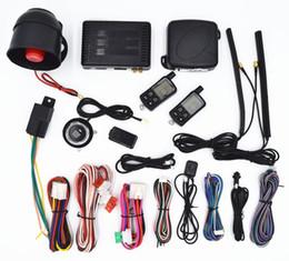 Push Button Car Remote Start NZ - CarBest Vehicle Security Paging Car Alarm 2 Way LCD | Push Engine Start Stop Button | Passive Keyless Entry(PKE) | Car Burglar Alarm System