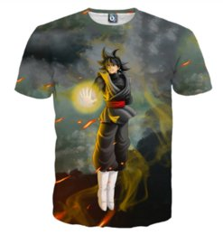 shirt mens 4xl 5xl UK - Newest Fashion Mens Womans Anime Dragon Ball Z Wood Clouds T-Shirt Summer Style Funny 3D Print Casual T-Shirt Tops Plus Size AA223