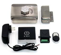 $enCountryForm.capitalKeyWord Canada - Wholesale- Door Access Control System Wireless Remote Control+Opening Door Switch Button+Electronic Door Lock Intercom Lock