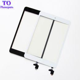 Ipad sensors online shopping - For iPad mini mini Touch Screen Panel Digitizer Glass Panel Lens Sensor Repair IC Home Button Flex