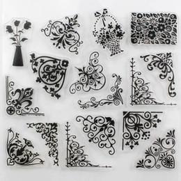 Transparent Cards Canada - Newest Flower Design Clear Transparent Stamp DIY Scrapbooking Card Making Christmas Decoration Supplies
