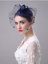 2017 Fashion Bridal Tiaras Kopf Stücke Garn Blume Stirnbänder Tiaras Kronen Hochzeit Haarschmuck Haarschmuck im Angebot