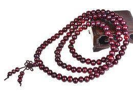 $enCountryForm.capitalKeyWord UK - Fashion 108*6mm Buddhist Tibetan Decor Prayer beads Bracelet Bangle Wrist Ornament Wood Buddha Beads Women Jewelry Religion Charm