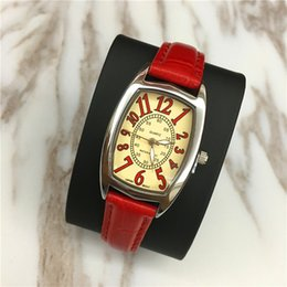 $enCountryForm.capitalKeyWord Australia - New Arrivial Women Watches Lady Wristwatch Genuine Leather Colorful Free box 15pcs DHL free Wholesale price Hign Quality Foreign trade sales