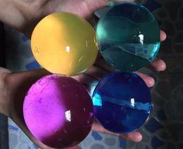 $enCountryForm.capitalKeyWord Canada - 100pcs Pearl Shape 10-12mm Big Crystal Soil Water Beads Mud Grow Magic Jelly Ball Kids Toy Wedding Home Decor Hydrogel Beads