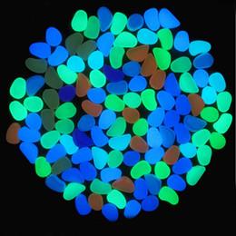 Künstlicher leichter leuchtender Kieselstein für Hauptfisch-Dekor-Garten-Korridor-Dekorationen 1000pcs geben Verschiffen frei