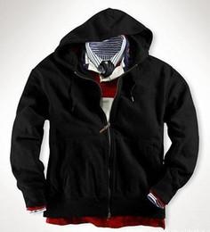 $enCountryForm.capitalKeyWord Canada - New Arrival Brand Polo Hoodies Small Horse Printed Casual Sweatshirt Men American Fashion Winter Mens Cardigan Zipper Hoodie Coats Jackets