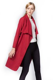 Dark Red Wool Coat Online | Dark Red Wool Coat for Sale