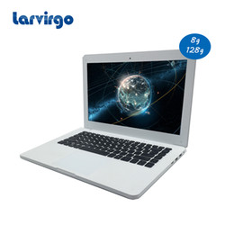 Built Laptops Canada - windows 10 13.3 inch Celeron J1900 4G ram 128G SSD laptop built in camera send mouse with SD card reader