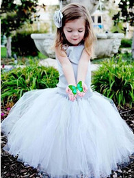 Grey and yellow flower girl dresses amazing whitesilver metallic good tulle flower girl dresses floor length lace up back graduation gown children grey first dress supplier yellow grey flower girl dresses with grey and mightylinksfo