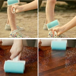 dust remover clothes stick 2019 - Super Sticky! Washable Dust Lint Roller Fluff Pet Hair Dust Remover Lint Sticking Dusting Roller with Cover Hot Sale che