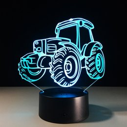 $enCountryForm.capitalKeyWord Canada - 2016 Truck 3D Optical Illusion Lamp Night Light 7 RGB Lights DC 5V USB Charging AA Battery Dropshipping Free Shipping