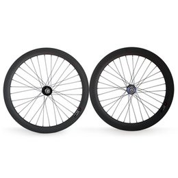 $enCountryForm.capitalKeyWord Canada - Fixed Gear Rear wheel 700C Tubular Clincher Carbon wheel 25mm Width for track bike