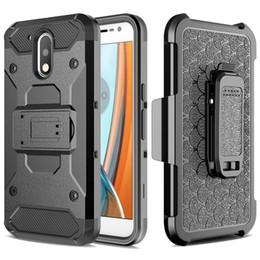 Desire Hard Case Australia - For HTC Desire 530 630 Case Heavy Duty Armor Case Hybrid Hard Fundas Belt Clip Holster Kickstand Case for MOTO G4 G4Plus Combo Rugged Case