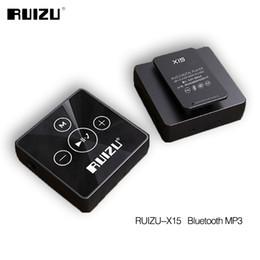 Mini Mps player online shopping - Ruizu X15 Portable Digital Lossless Hifi Audio Sport Mini Clip Mp Music Mp3 Player Bluetooth GB Running With Flac WAV Media