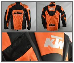 Venta al por mayor de Nueva ktm invierno cálido oxford motocicleta off-road chaqueta chaquetas de carreras ropa masculina off-road chaqueta a prueba de viento tiene protección j-1