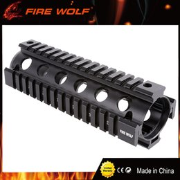 T mounT online shopping - FIRE WOLF Tactical T Serie Free Float Inch slanted holes Handguard Quad Rail Scope Mount Gun Accessories