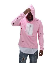 Discount Hot Pink Mens Hoodie | 2017 Hot Pink Mens Hoodie on Sale ...