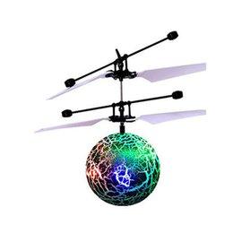 Juguete RC EpochAir RC Flying Ball Helicóptero Ball Incorporado Shinning Iluminación LED para niños Adolescentes Coloridos vuelos Feb10 en venta