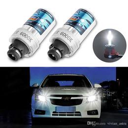 $enCountryForm.capitalKeyWord NZ - 2 Pcs D2R D2S 6000K Car Hid Headlight Daytime Running Light Drl Xenon Lamps HID D2R Xenon Projector Lens HeadLight