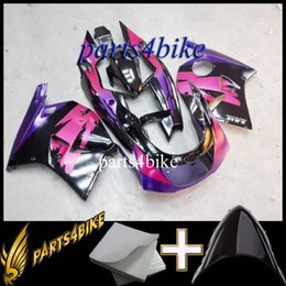 China ABS Fairing for Kawasaki ZXR250 93 97 ZX R250 1993-1997 93 94 95 96 97 purple pink black Motorcycle Body Aftermarket Plastic cheap plastics for 94 kawasaki ninja suppliers