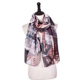 Venta al por mayor de Diseño de marca a cuadros tubo de impresión bufanda infinita para mujer nuevo suave anillo de algodón bufandas más tamaño hijab foulard femme chal