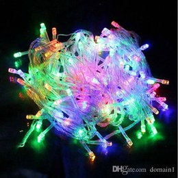 $enCountryForm.capitalKeyWord NZ - Holiday lighting Christmas garland 10M 100leds AC110V 220V luces Fairy String Garland 10m Outdoor led Christmas lights