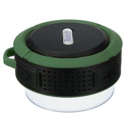$enCountryForm.capitalKeyWord UK - New Waterproof C6 bluetooth speakers Chuck dustproof Mini portable outdoor Shower speaker with 5W Speaker Suction Cup 5 colors