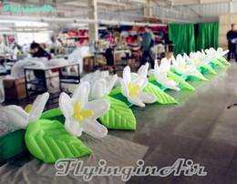 $enCountryForm.capitalKeyWord NZ - 10m Wedding Decorative Inflatable Flower String for Event Anniversary Stage
