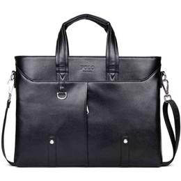 2017 berühmte Marke Einfache Herren Leder Aktentasche Tasche Solide Große Business Mann Tasche Laptop Handtasche pasta Executiva masculino