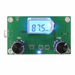 Internet Packs NZ - Wholesale-New Arrival for 87-108MHz DSP&PLL LCD Stereo Digital FM Radio Receiver Module + Serial Control