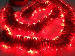 Discount holiday electronics - 10 CM 150 lamps Belt rich canon clays refractory drapes hangers electronics lamp decoration wedding holiday lights 2PCS(