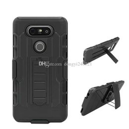 $enCountryForm.capitalKeyWord UK - Hot selling Future Armor Hybrid Hard Case Cover + Belt Clip Holster Kickstand Combo Phone Cases for LG G2 G3 G4 G5 C40 K10