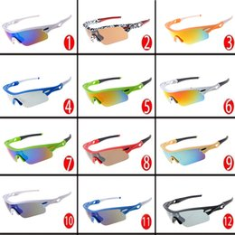 Chinese  Cheap Sport Sunglasses for Woman and Man Bicyle Outdoor Sports Sun Glasses Wholesale Women's and Men's Fashion Beach Eye Shadows free ship manufacturers