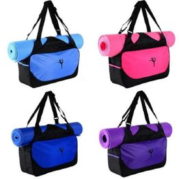 13af547d6b Yoga Mat Gym Bags Canada - Multifunctional Yoga Bag Gym Mat Yoga Backpack  Waterproof Pilates Mat