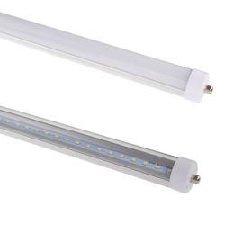 $enCountryForm.capitalKeyWord UK - R17D LED Tubes Light T8 45W LED Tube Single Pin FA8 LED tubes light 8FT 8 Feet 4500LM Replace Fluorescent Lamp