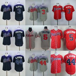 ed1b9e8f4 ... 30 Teams- Cheap Price Atlanta Braves 5 Freddie Freeman Mens Baseball  Jersey 3 Dale Murphy ...