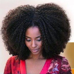 glueless lace wigs for black women NZ - Glueless Brazilian Kinky Curly Full Lace Human Hair Wigs with Baby Hair 130% Density Lace Front Wig for Black Women FDSHINE