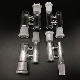 male female oil rig ash catcher 2019 - Glass Reclaim adapter Male Female 14mm 18mm Joint Glass Reclaimer adapters Ash Catcher for Oil Rigs Glass Bong Water Pip
