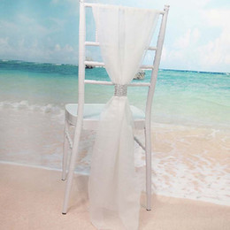 Chinese  wedding decorations Chair Sashes Chiffon Delicate Wedding Decorations Party Banquet Popular Fashion Chair Covers Wedding Accessories manufacturers