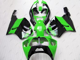 kawasaki zx7r fairing black green NZ - Plastic Fairings Zx7r 2002 Body Kits for Kawasaki Zx7r 00 01 Green Black Bodywork Zx 7r 1996 1996 - 2003