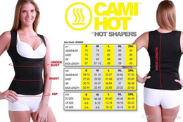 Barato Mulher Cami Shaper-Cami Hot Women's Hot Shapers Shirt S-2XL corpo shaper Perda de peso Cincher Cinto emagrecimento Belkin Trimmer Hot 60pcs