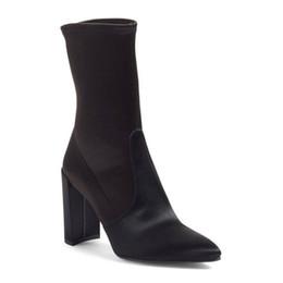 $enCountryForm.capitalKeyWord UK - fashions spring champagne satins ankle boots woman stretch frabic western botas european slip on knight booties woman big 43