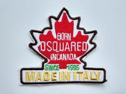 Kanada Maple Leaf Seyahat Hatıra Demir / Başarmak On İşlemeli yama Hediye gömlek çanta pantolon ceket Yelek Bireysellik indirimde