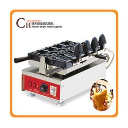 big fish mouth ice cream taiyaki machine mini waffle maker ice cream waffle cone maker
