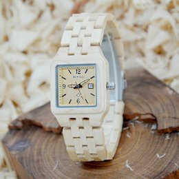 Luxo 130A Relógios De Marca De Madeira Relógios de Marca Linda Pulseira Luminosa Mulher Designer Relógios De Pulso Calendário Na Venda venda por atacado