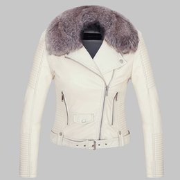 Discount Fur Lined Leather Jacket Women | 2017 Fur Lined Leather ...