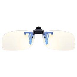 $enCountryForm.capitalKeyWord UK - Clip on Lens Anti Block Blue Light Cover Glasses Unisex Eyes Care Computer Work Men Women